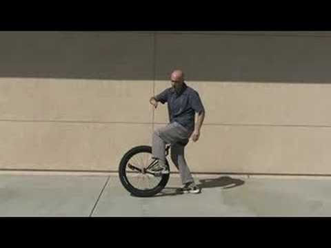 Unicycle Getting Started by skillteacher