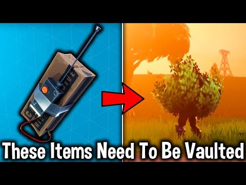 5 WEAPONS THAT NEED TO BE VAULTED in Fortnite! (Fortnite Battle Royale)