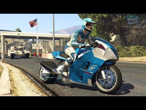 GTA Online Time Trial - Fort Zancudo (Under Par Time)