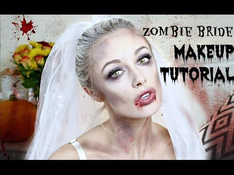 Zombie Bride Halloween Makeup Tutorial  |  Fashion Mumblr