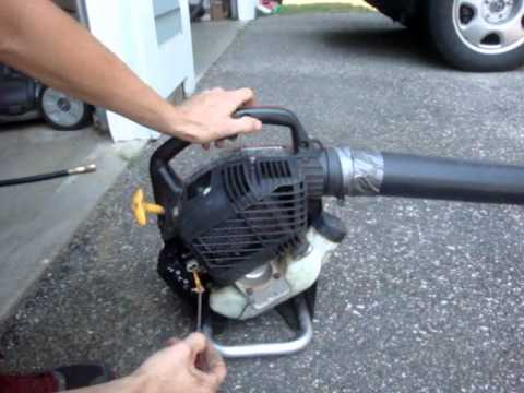 How to Tune a 2-Stroke Engine (Trimmer, Leaf blower, Saw, etc.)