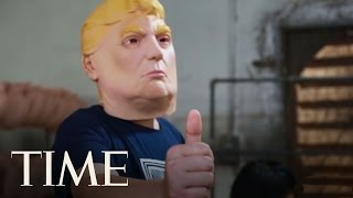 Making Trump Masks In China: Behind The Factory