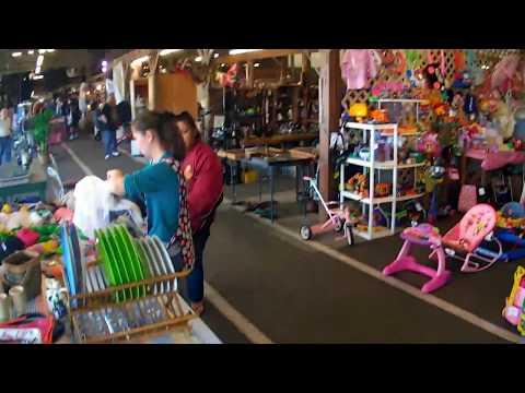 Inside Fleamasters Flea Market in Fort Myers on MLK