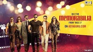 Exclusive Race 3 MEMORABILIA | Salman Khan | Jacqueline F, Anil K, Bobby D, Daisy, Saqib | AstaGuru