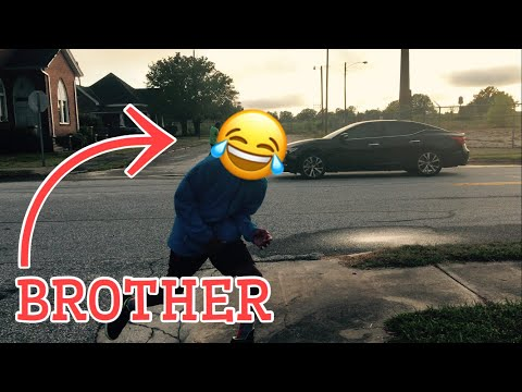 INVISIBLE ROPE PRANK!