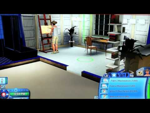 Sims 3 Writing and Painting tips, Part 2