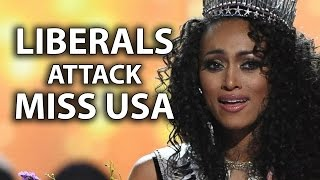 Liberals Attack Miss USA for Anti-Feminist/Health Care Answers