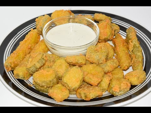 How To Make Crispy Fried Pickles - Fried Pickles Recipe