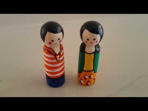 How to make peg doll easily
