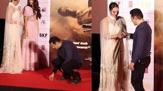 Salman Khan's SWEET GESTURE Towards Sonakshi Sinha At Dabangg 3 Trailer Launch