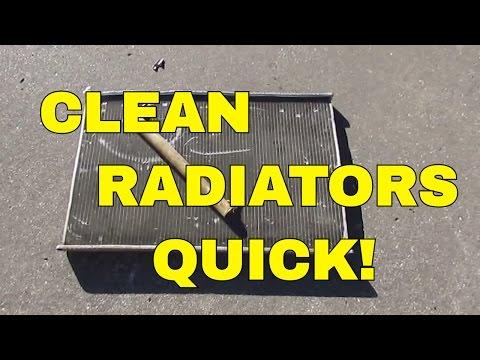 How To Clean Radiators for Scrap Brass & Aluminum Metal Cash - Make Money Scrapping Metal 12-28-16