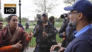 P1 - **must Watch!!** All Religions Are Equal!? Hashim Vs Atheist L Speakers Corner L Hyde Park