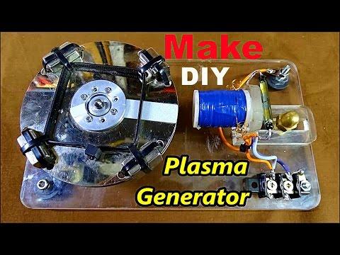 Make Plasma Motor Generator DIY-Circuit!