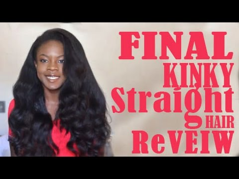 Quick Final Review of Kinky Straight Rosa Queen Hair Products Hair