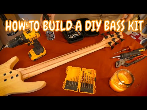 How To Build A Do-It-Yourself Bass / Electric Guitar