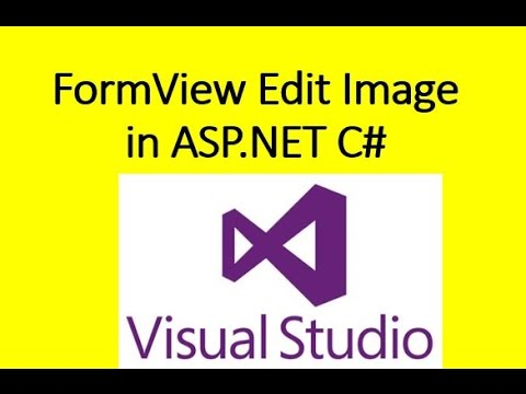 FormView Edit Picture | Image using SqlDataSource in ASP.NET C#