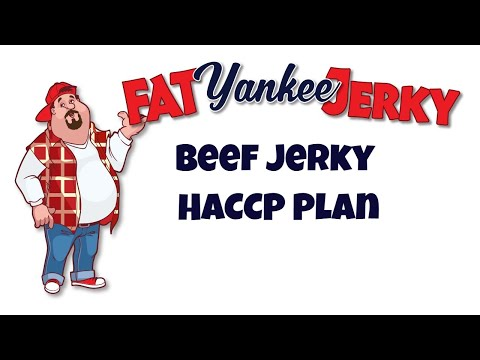 Beef Jerky HACCP Plan (For Purchase) Quick & Easy