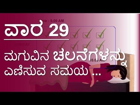 Pregnancy   Week by week  Kannada  Week 29