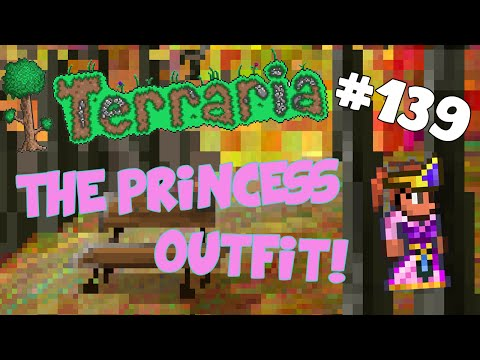 Let's Play Terraria iOS/Android - THE PRINCESS OUTFIT! - 139