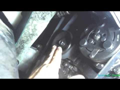 Replace & Adjust Serpentine Belt, Chrysler Sebring