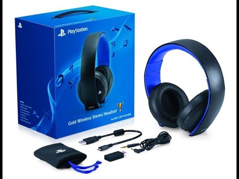 TEST casque PS4 wireless stereo headset 2.0 Fr HD