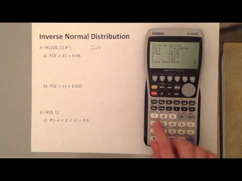 S1 Inverse Normal Distribution Graphical Calculator
