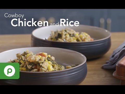 Cowboy Chicken and Rice. A Publix Aprons recipe.