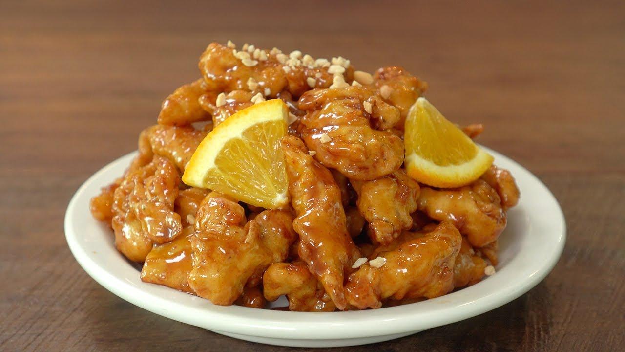 바삭하고 달콤한 오렌지 치킨 만들기 :: 무조건 맛있는, 오렌지치킨 소스 레시피 :: Orange Chicken Recipe :: Orange Chicken Sauce