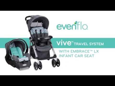 Evenflo LiteMax 35 Infant Car Seat ViveTM Travel System
