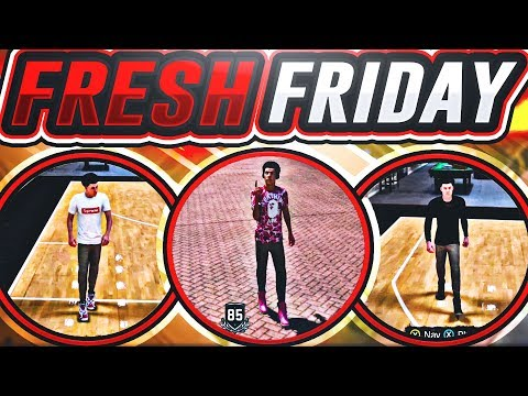 NBA 2K18 •FRESH FRIDAY! | BEST OUTFITS AND DESIGNER CLOTHES! | HOW TO GET FREE CLOTHES!!