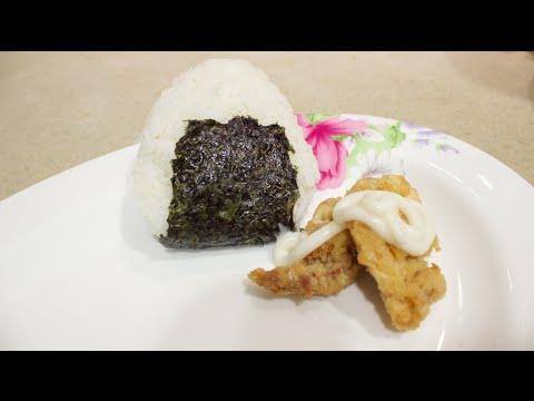 Recipe: Fried Chicken Onigiri