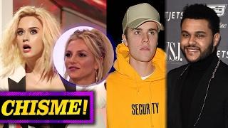 Katy Perry Se Burla de Britney Spears, The Weeknd Le Responde a Justin Bieber