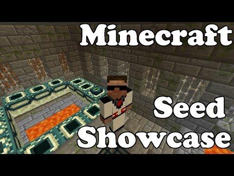 Minecraft Seed Showcase: End Portal at Spawn! 1.7.4