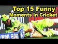 Download  Top 15 Funny Moments in Cricket History | Funniest Moments Video MP3,3GP,MP4