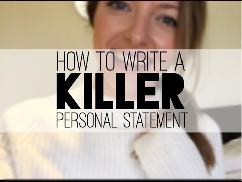 How to write an epic personal statement for medical school | | | Sarah NickNicks