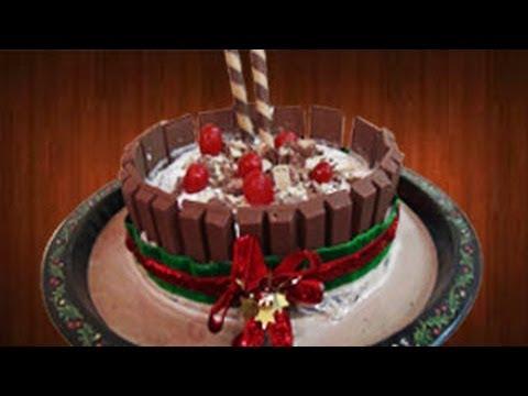Kit Kat Candy Bar Ice Cream Cake