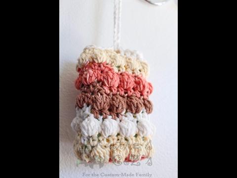 How To: Crochet Soap Saver; soap sock, soap sack