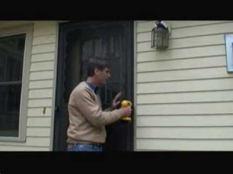 How to Remove an Old Storm Door