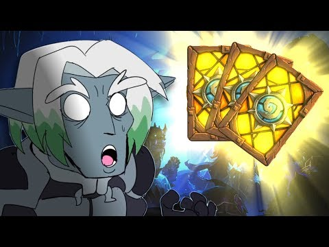 SO MANY LEGENDARIES! Opening 50 Knights of the Frozen Throne Packs! - Hearthstone