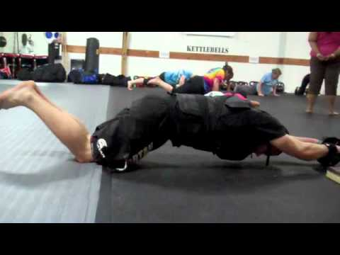 Ab Wheel - Ab Rollouts with a Weighted Vest