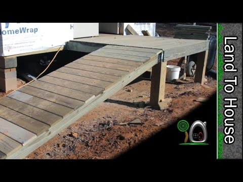 Porch and Ramp - Build a Workshop #20