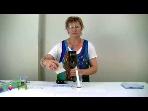 Glass Bottle Cutter - How to cut glass bottles Part 2