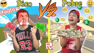 RICO VS POBRE NA ESCOLA #46 - NO ROBLOX !!