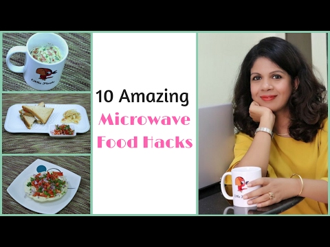 10 Amazing Microwave Food Hacks | Easy Microwave Recipes | Indian Kitchen Hacks