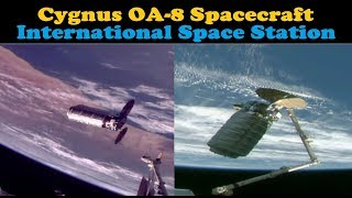 OA-8 Cygnus Spacecraft arrives at the ISS