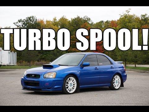 2004-2005 Subaru WRX - K&N Intake + Genie Exhaust. TURBO SPOOL SOUNDS!
