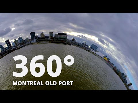 Old Montreal 360 VR Video Experience in Virtual Reality