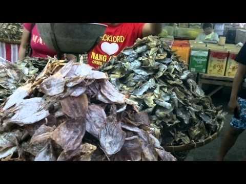 Cebu City Dried Fish Section