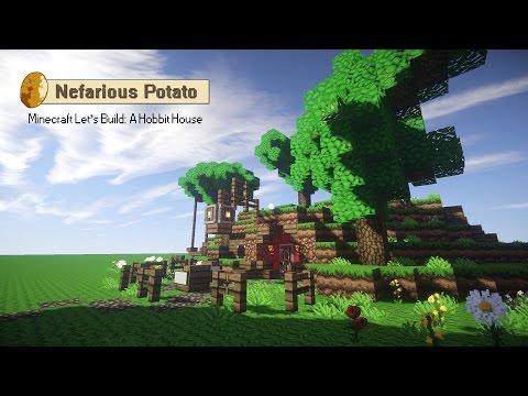 Minecraft Let's Build: A Hobbit House