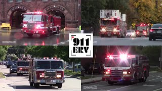 Fire Trucks and Ambulances Responding | Best of 2018